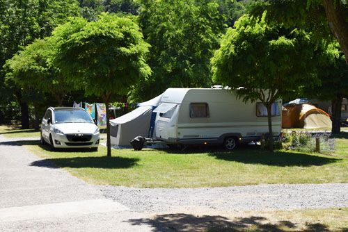 Emplacements Camping La Charderie Ardèche